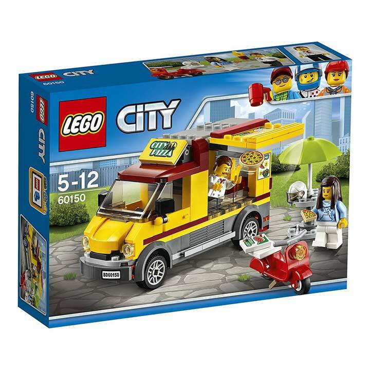 レゴ シティ ピザショップトラック 60150玩具 組立ブロック 遊び LEGO レゴジャパン 【TC】【取り寄せ品】【取り寄せにお時間頂く場合がございます】