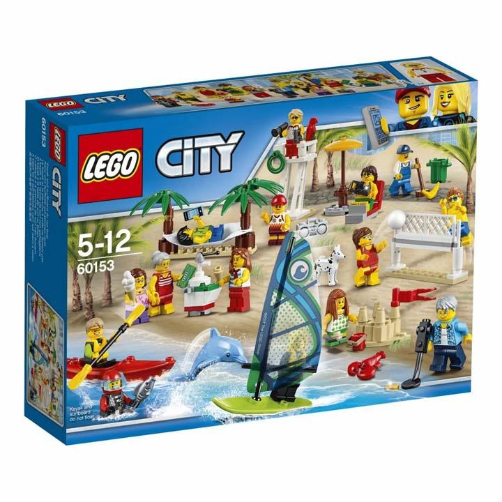 レゴ シティ レゴシティのビーチ 60153送料無料 玩具 組立ブロック 遊び LEGO レゴジャパン 【TC】【取り寄せ品】【取り寄せにお時間頂く場合がございます】
