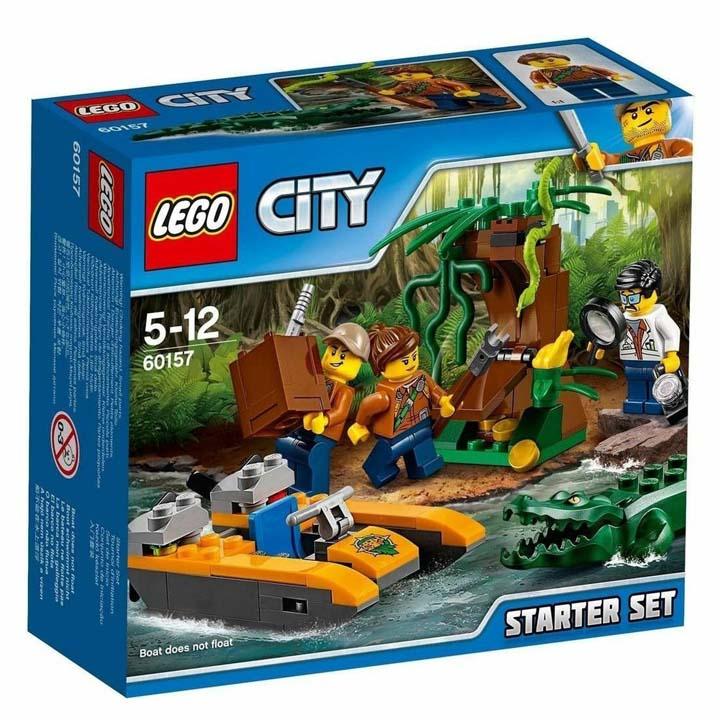 レゴ シティ ジャングル探検スタートセット 60157玩具 組立ブロック 遊び LEGO レゴジャパン 【TC】【取り寄せ品】【取り寄せにお時間頂く場合がございます】