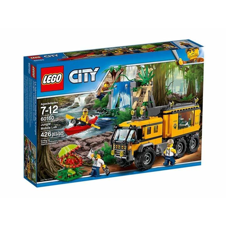 レゴ シティ ジャングル探検移動基地 60160送料無料 玩具 組立ブロック 遊び LEGO レゴジャパン 【TC】