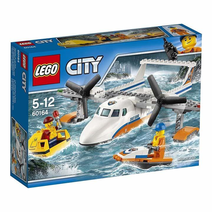 レゴ シティ 海上レスキュー飛行機 60164玩具 組立ブロック 遊び LEGO レゴジャパン 【TC】