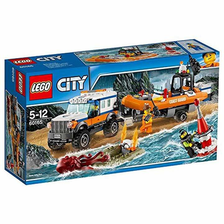 レゴ シティ 海上レスキューボートと4WDキャリアー 60165玩具 組立ブロック 遊び LEGO レゴジャパン 【TC】【取り寄せ品】【取り寄せにお時間頂く場合がございます】