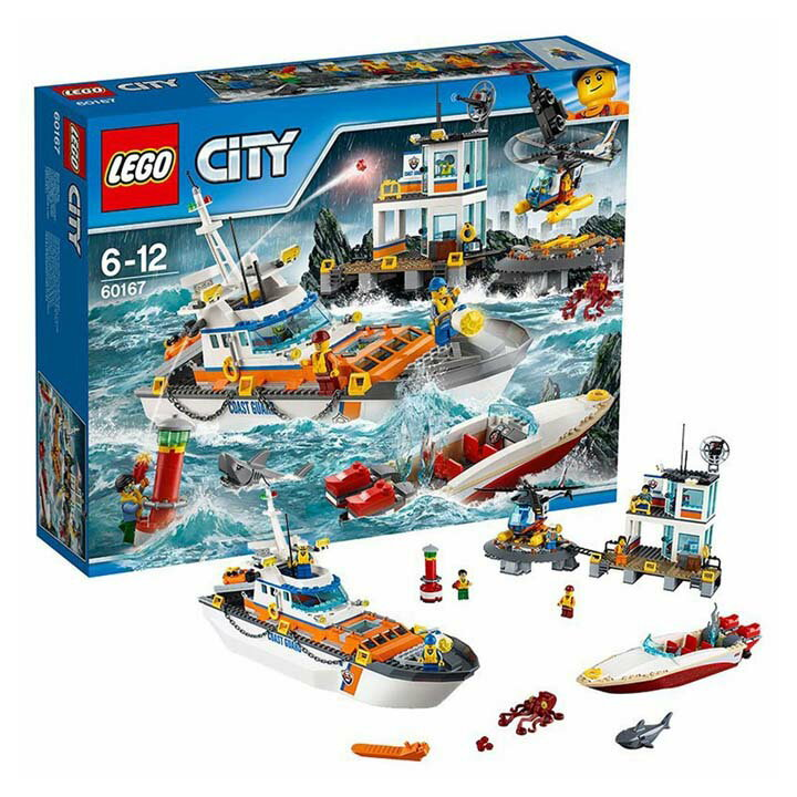 レゴ シティ 海上レスキュー隊と司令基地 60167送料無料 玩具 組立ブロック 遊び LEGO レゴジャパン 【TC】【取り寄せ品】【取り寄せにお時間頂く場合がございます】