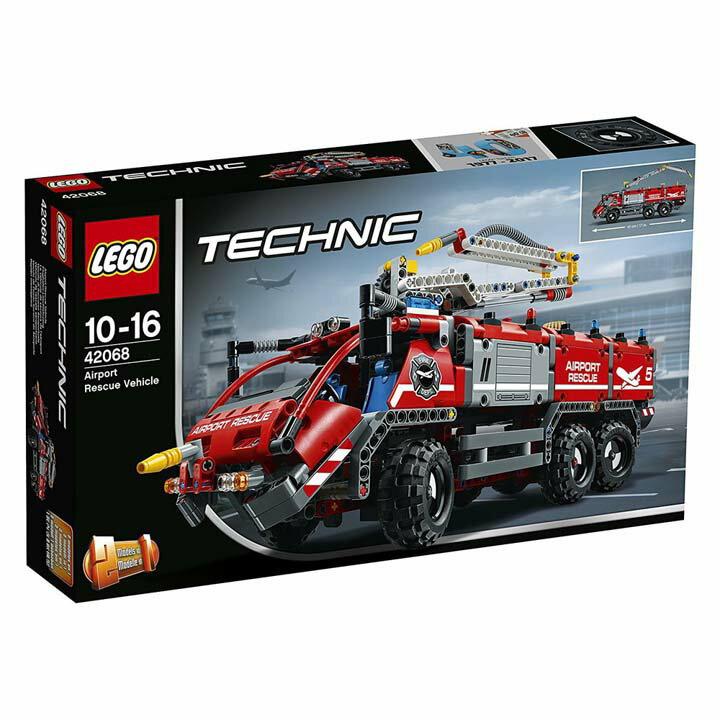 レゴ テクニック 空港用火災救助車 42068送料無料 玩具 組立ブロック 遊び LEGO レゴジャパン 【TC】【取り寄せ品】【取り寄せにお時間頂く場合がございます】