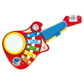 ハペ HAPE 6−in−1 ギターバンド E0335Aおもちゃ 知育玩具 木のおもちゃ ギター 【TC】