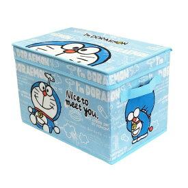 【在庫限り】I'mDoraemonフタ付き収納ボックス 88-846子ども おもちゃ キッズ 子供 オモチャ 収納用品 ボックス ケース どらえもん ドラえもん おかたづけ おもちゃ箱 オモチャ箱 玩具 整理整頓 【D】 新生活