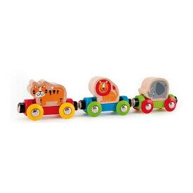 ハペ のせかえ どうぶつでんしゃ E3807おもちゃ Hape 知育玩具 こども プレゼント 木製 電車 動物 どうぶつ カワダ 【D】