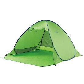 フルクローズワンタッチサンシェード200 グリーン NE994 テント 折り畳み 折りたたみ 日よけ 日除け 簡単 アウトドア キャンプ レジャー 雨除け 雨よけ NorthEagle ノースイーグル キャンプ用品【D】【補】