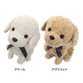 ココ さかだちして ペット 犬 ココ クリーム アプリコット ぬいぐるみ カワダ クリーム アプリコット【D】