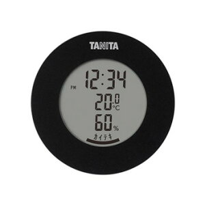 TANITA タニタ デジタル温湿度計 TT-585BK スポーツウェア アクセサリー[▲][AB]