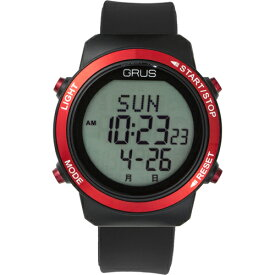 GRUS 腕時計 歩幅計測 ウォーキングウォッチ GRS001-01 ホビー インテリア 雑貨 腕時計[▲][AS]