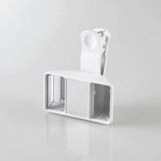 [ELECOM (ELECOM)] 3D animation photography lens white P-VRL01WH