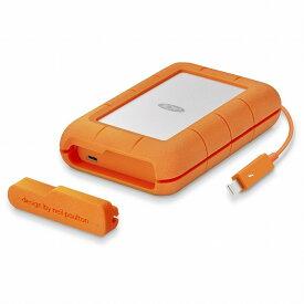 [エレコム]LaCie HDD ポータブルハードディスク 4TB Rugged Thunderbolt USB-C 耐衝撃 STFS4000800[▲]