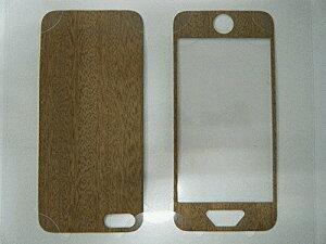 iPhone SE/iPhone 5S/iPhone 5 共通 The/Surface/前裏/Sapelli/Wood スマートフォンケース スマホケース [▲][G]