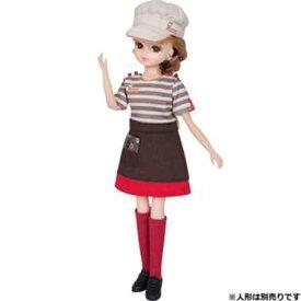 【トミックス/TOMIX】 ミスタードーナツ てんいんさん ドレス おもちゃ 人形・着せ替え リカ[▲][ホ][K]