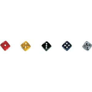 【カワダ/KAWADA/河田】 ダイス 16TR 黄 ゲーム ボードゲーム サイコロ ダイス[▲][ホ][K]