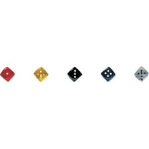 【カワダ/KAWADA/河田】 ダイス 14TR緑 ゲーム ボードゲーム サイコロ ダイス[▲][ホ][K]