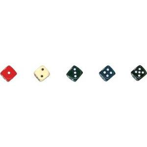 【カワダ/KAWADA/河田】 ダイス 16カラー黒 ゲーム ボードゲーム サイコロ ダイス[▲][ホ][K]