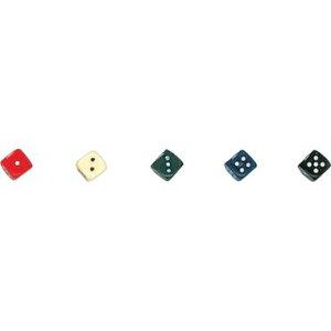 【カワダ/KAWADA/河田】 ダイス 14カラー黒 ゲーム ボードゲーム サイコロ ダイス[▲][ホ][K]