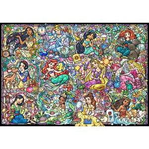 【テンヨー】DS-1000-776 ディズニープリンセス コレクション ステンドグラス ホビー パズル ジグソーパズル[▲][ホ][K]