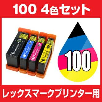 렉스마크 LEX100/108 XL 4색세트 Lexmark