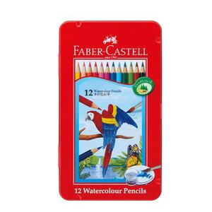 【シャチハタ】ファーバーカステル 水彩色鉛筆 12色セット シャチハタ しゃちはた 色鉛筆 水彩 絵 絵画 スケッチ 水溶性 鉛筆 えんぴつ 芯 柔らかい TFC-WCP/12Cシャチハタ 色鉛筆 水彩 絵 絵画