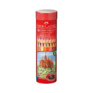 【シャチハタ】ファーバーカステル 色鉛筆丸缶 36色セット シャチハタ しゃちはた 色鉛筆 水彩 絵 絵画 スケッチ 水溶性 鉛筆 えんぴつ 芯 柔らかい ファーバーカステル TFC-CPK/36Cシャチハタ