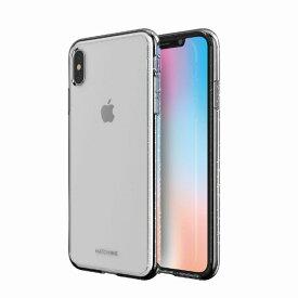 【Matchnine(マッチナイン)】背面カバー型スマホケース iPhone XS Max BOIDO クリアパール スマートフォンケース スマホケース[▲][R]