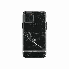 【Richmond & Finch(リッチモンド&フィンチ)】iPhone 11 Pro FREEDOM CASE マーブル Black Marble 背面カバー型 スマートフォンケース スマホケース[▲][R]