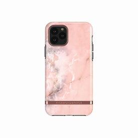 【Richmond & Finch(リッチモンド&フィンチ)】iPhone 11 Pro FREEDOM CASE マーブル Pink Marble 背面カバー型 スマートフォンケース スマホケース[▲][R]
