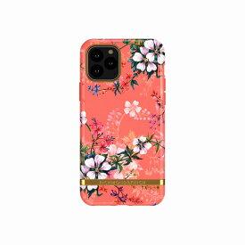 【Richmond & Finch(リッチモンド&フィンチ)】iPhone 11 Pro FREEDOM CASE フローラル Coral Dreams 背面カバー型 スマートフォンケース スマホケース[▲][R]