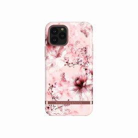 【Richmond & Finch(リッチモンド&フィンチ)】iPhone 11 Pro FREEDOM CASE フローラル Pink Marble Floral 背面カバー型 スマートフォンケース スマホケース[▲][R]