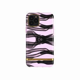 【Richmond & Finch(リッチモンド&フィンチ)】iPhone 11 Pro FREEDOM CASE ファッション Pink Knots 背面カバー型 スマートフォンケース スマホケース[▲][R]