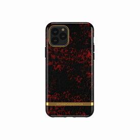 【Richmond & Finch(リッチモンド&フィンチ)】iPhone 11 Pro FREEDOM CASE ファッション Red Leopard 背面カバー型 スマートフォンケース スマホケース[▲][R]
