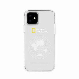 【National Geographic】[公式ライセンス品]iPhone12 mini Global Seal JellHard Case 背面カバー型 スマホケース[▲][R]