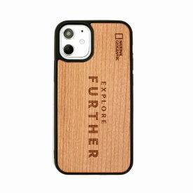 【National Geographic】[公式ライセンス品]iPhone12 mini Nature Wood Case Futher Edition 背面カバー型 スマホケース[▲][R]