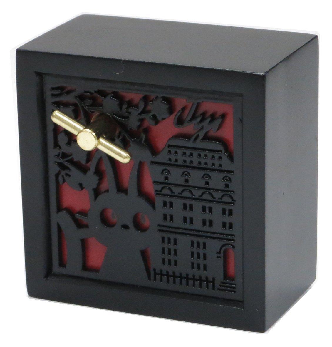 ジブリ 魔女の宅急便 木彫レリーフBOX型オルゴール ジジ【送料無料】【男の子 女の子 ぬいぐるみ 誕生日 プレゼント 】
