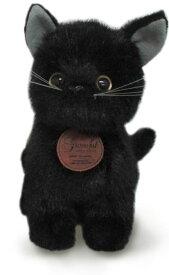 日本製高級ぬいぐるみ グレイスフルシリーズ おすわりCAT 黒猫[ぬいぐるみ グッズ おもちゃ 雑貨 キッズ ベビー プレゼント 送料無料]