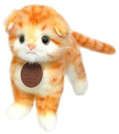 日本製高級ぬいぐるみ グレイスフルシリーズ I-1012 スコティッシュ ゴールド 立ち ネコ猫[ぬいぐるみ グッズ おもちゃ 雑貨 キッズ ベビー プレゼント 送料無料]