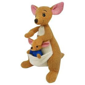 くまのプーさん Winnie the Pooh カンガルー ぬいぐるみ[ぬいぐるみ グッズ おもちゃ 雑貨 キッズ ベビー プレゼント 送料無料]