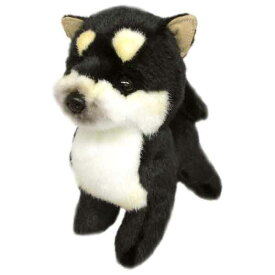 日本製 グレイスフル ぬいぐるみ 柴犬 S ブラック 立ち 犬[ぬいぐるみ グッズ おもちゃ 雑貨 キッズ ベビー プレゼント 送料無料]