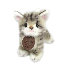 グレイスフル 復刻 こねこのミーヤ グレー 立ち 猫[ぬいぐるみ グッズ おもちゃ 雑貨 キッズ ベビー プレゼント 送料無料]
