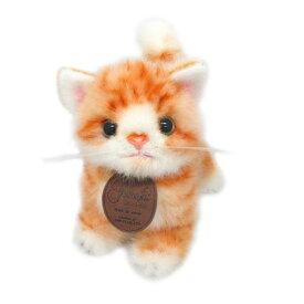 グレイスフル こねこのミーヤ ゴールド 立ち 猫[ぬいぐるみ グッズ おもちゃ 雑貨 キッズ ベビー プレゼント 送料無料]