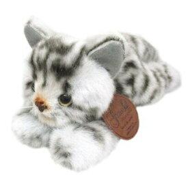 [超目玉]日本製高級ぬいぐるみ グレイスフル 復刻 アメリカンショートヘア グレー ネコ猫[ぬいぐるみ グッズ おもちゃ 雑貨 キッズ ベビー プレゼント 送料無料]