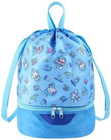 ドラえもん 2WAYボンサック プールバッグ ビーチバッグ 水着バッグ I'm Doraemon 約H370×W235×D235mm [ぬいぐるみ グッズ おもちゃ 雑貨 キッズ ベビー プレゼント 送料無料]