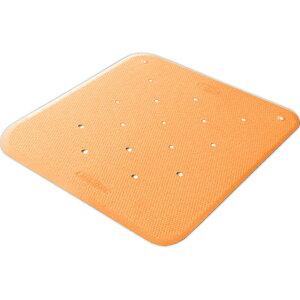 トライタッチ S オレンジ ウェルファン トライアングル形状の滑り止めマット バリアフリーカッティング 浴槽内でも使えるバスマット