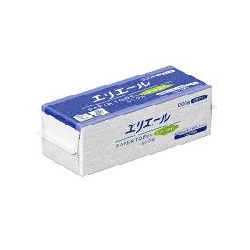 大王製紙 エリエール ペーパータオル スマートタイプ シングル 200枚×42袋 業務用 小判 ケース販売
