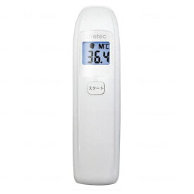 ドリテック 非接触体温計 TO-401 ホワイト TO-401NWT