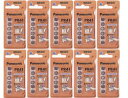 【DM便なら送料無料】【panasonic】パナソニック 補聴器用空気電池PR41(312) 10パックセット(60粒入り)オムロン イヤメイト AK-04,A...