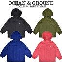 OCEAN & GROUND(オーシャン アンド グラウンド)レインジャケット キッズ レインウェア レインコート キッズ 雨具 ra…